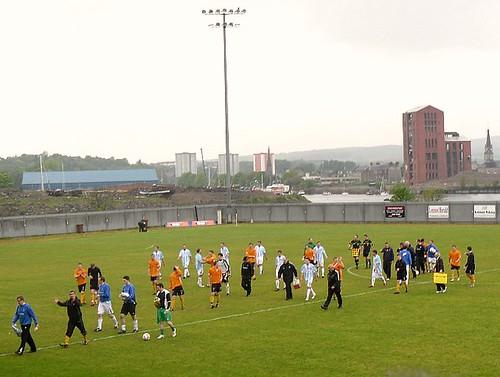 Dumbarton 0-0 Forfar Athletic 7/5/11 game end