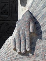 The hand of the Pharao ! (sandrella2706) Tags: egypt middleeast cairo souk karnak aswan luxor gypten naherosten
