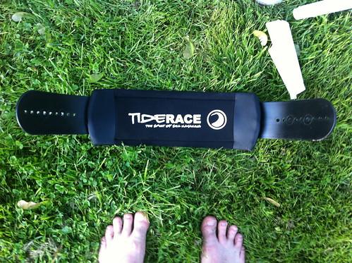 Tiderace backband, I hardly knew thee!
