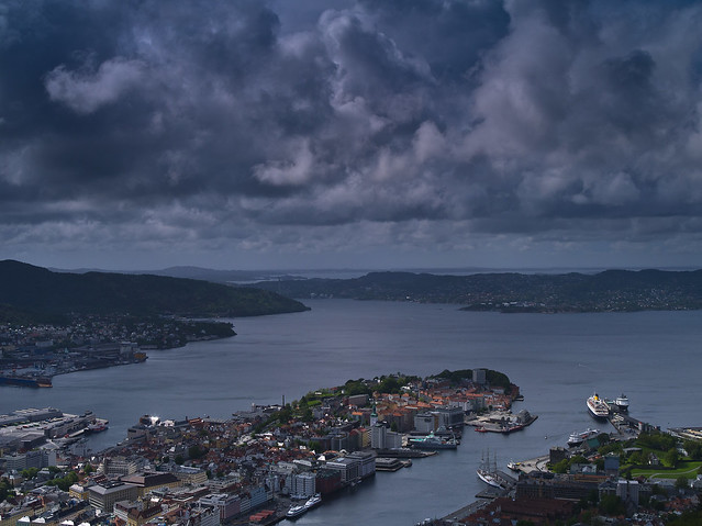 Storm Clouds over Bergen