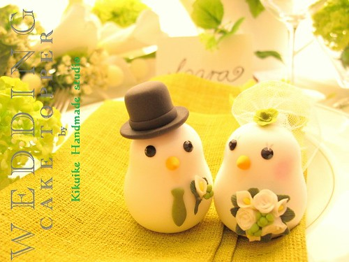 love heart sweets cake. Wedding Cake Topper-love bird