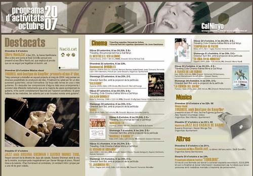 Programa d'activitats 2007