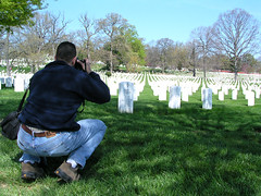 Arlington National Cemetery. April 2005.
