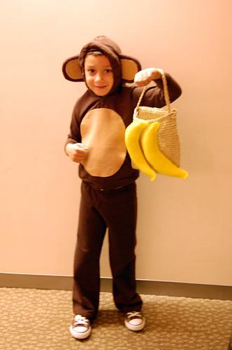 monkey costume!