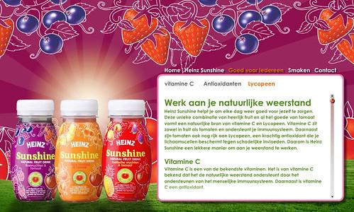 Heinz zet in op gezondheid met koelverse fruitdrank Heinz Sunshine