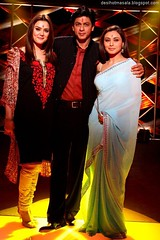 Preity Zinta, Shahrukh Khan, and  Rani Mukherjee (BeBe_Hajira) Tags: indian actress bollywood actor khan sari shahrukh zinta srk rani mukherjee preit