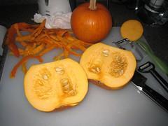 pumpkin insides