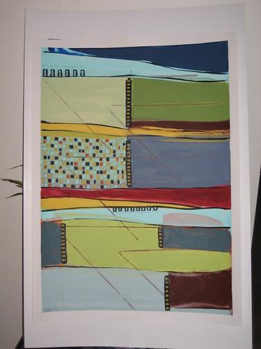 Barbara Zoern painting