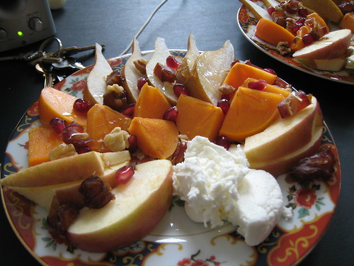 Thanksgiving fruit plate