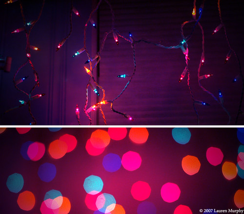 Dorm Room Christmas Lights