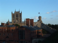 Lincoln Cathedral & Castle (liskatma) Tags: city castle lincoln cathdral