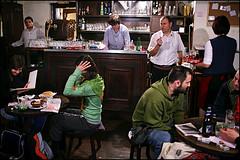 ? restaurant - Belgrade (Maciej Dakowicz) Tags: travel tourism bar work restaurant europe interior traditional serbia customer balkans belgrade waitress beograd waiter