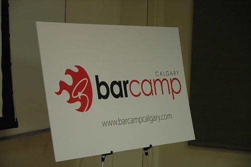 BarCamp Sign!
