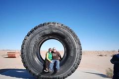 Giant Tire, Borox Visitor Center, Boron (janiecrash) Tags: baker boron