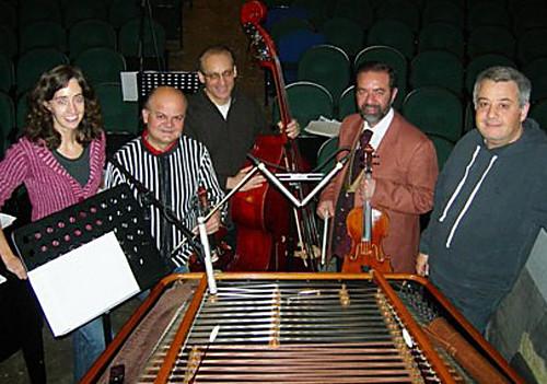 julie and musicians
