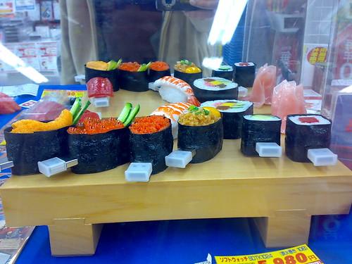 Sushi with something extra