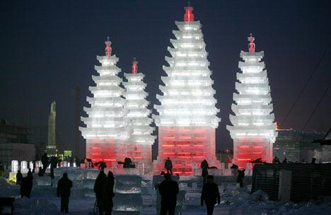 Chinese ice sculpture3