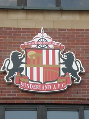Heraldic badge of Sunderland AFC.