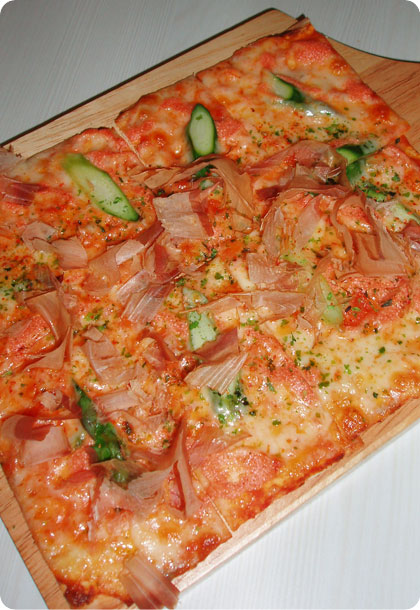 Cod Roe Pizza