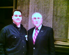 Myself and Ambassador Peck, after the event