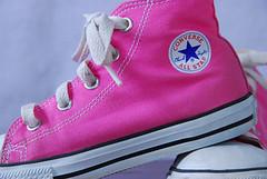 Pink Converse by Carol Nanfito Photography