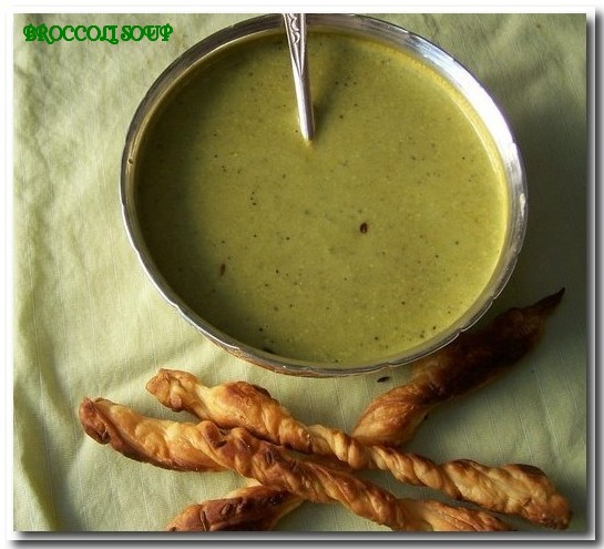 broccoli soup copyrighted