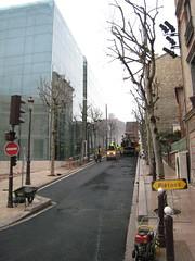 Puteaux, palais de la mdiathque (Grbert) Tags: palais chantier puteaux mediatheque