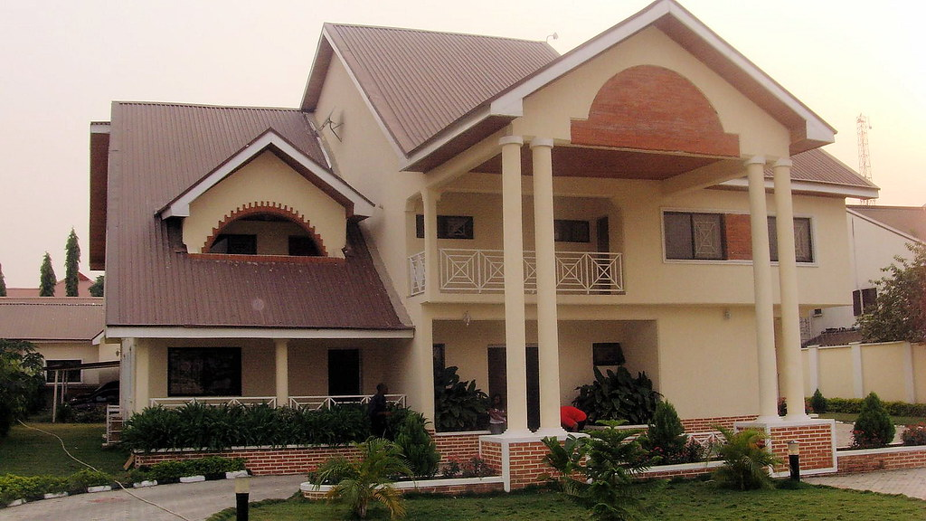 Image result for images of houses in nigeria