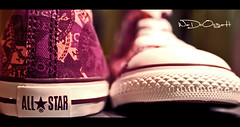 ALL * STAR (Weda3eah*) Tags: light brown white sport by dark shoe star shoes all ksa qtr convers pinck helton weda3eah wadoo3ah