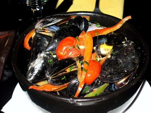 miso mussels @ kion's...