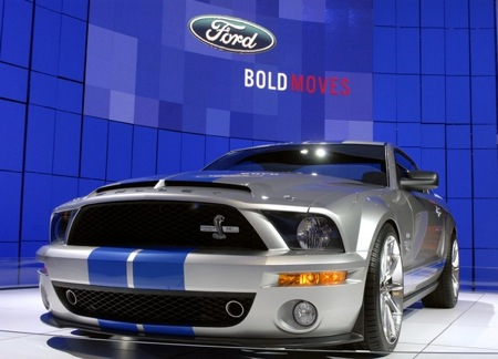2008 Ford Shelby GT500KR at New York Internatioal Auto Show