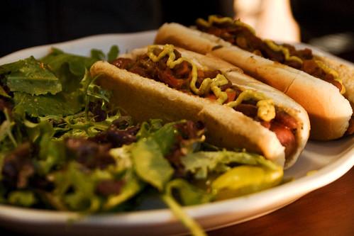 Betty's chili dogs