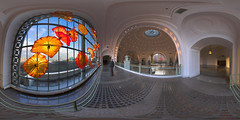 Union Station (akameus ( Randy Kosek )) Tags: panorama washington tacoma unionstation dalechihuly equirectangular akameus perfectpanoramas randykosek vrpanorama monarchwindow copyright2008clearlightphotography