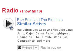Pirates on Last.fm