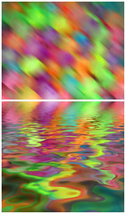balloons manipulated (jodi_tripp) Tags: abstract blur water balloons diptych colorful flood digitalart dyptich joditripp challengeyouwinner wwwjoditrippcom photographybyjodtripp