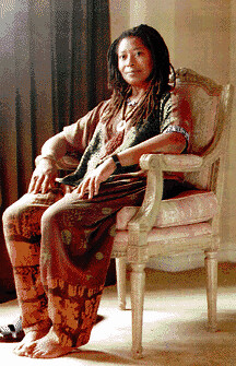 Alice Walker is an African American writer whose novels, short stories, and poems are noted for their insightful treatment of black culture. She is also the most banned American author in the U.S. by Pan-African News Wire File Photos