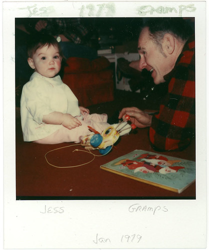 1979 - Jess with Gramps