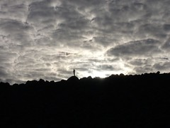 Fitz Roy - trek - ciel - nuages