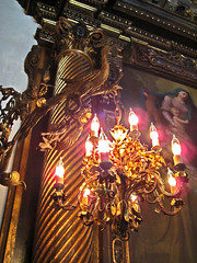 More Fantasticness Per Square Inch (Meadaura) Tags: house castle home museum architecture painting design italian rooms florida miami interior madonna peacock landmark palace historic chandelier villa fancy inside mansion ornate 2008 vizcaya viscaya deering lavish miamidadecounty jamesdeering vizcayamuseumandgardens 041308