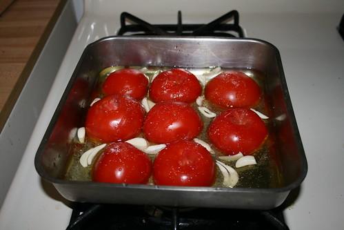 Tomato Confit Before