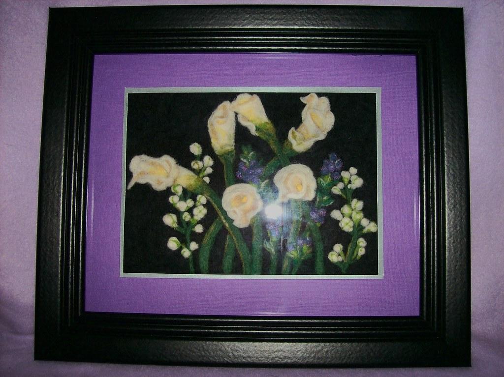 framed Cala Lily 3