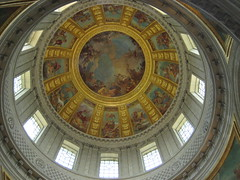 Ceiling art, Eglise du Dome