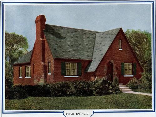 Brick English Cottage By Bilt Well