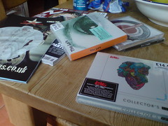 New purchases (Dradny) Tags: music love luna mojo paulweller thelas foreverchanges joebrowns