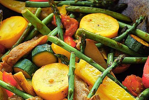 Stir Fried Summer Vegetables