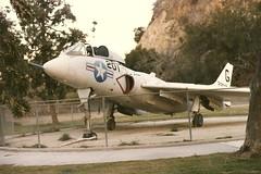 Travel Town Museum @Griffith Park  1984 L. A. (Vought F7U-3