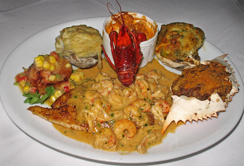 "Brigtsen's Seafood  Platter (The ""Shell Beach Diet"")"