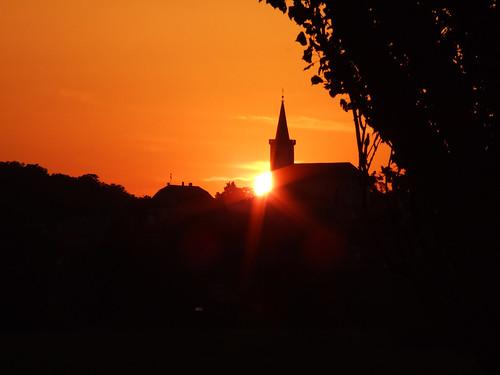 Sunset at Fertőrákos – Napnyugta Fertőrákosnál