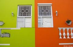 bo kaap (kaivodesign) Tags: africa orange green colors composition canon town south ixus western cape bo lime 700 flashy kapstadt kaap kaivodesign