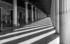 Greek Light and Shadows (Javiralv) Tags: light shadows greece grecia athens atenas stoa atalo